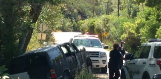 Spray Painted Stolen Car Immigration Canyon
