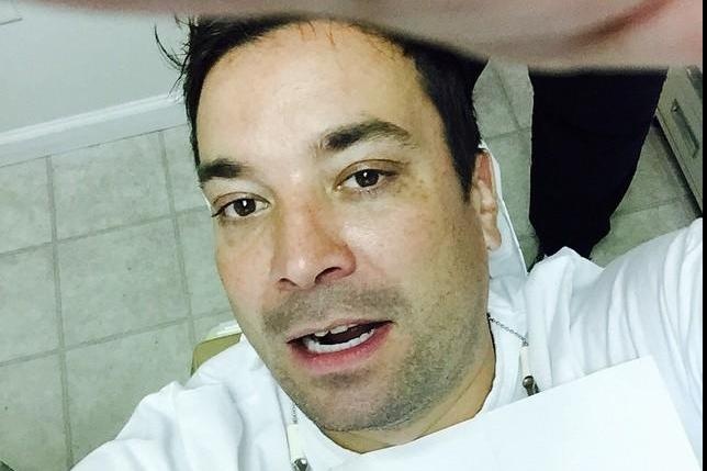 Jimmy Fallon Chipping Tooth