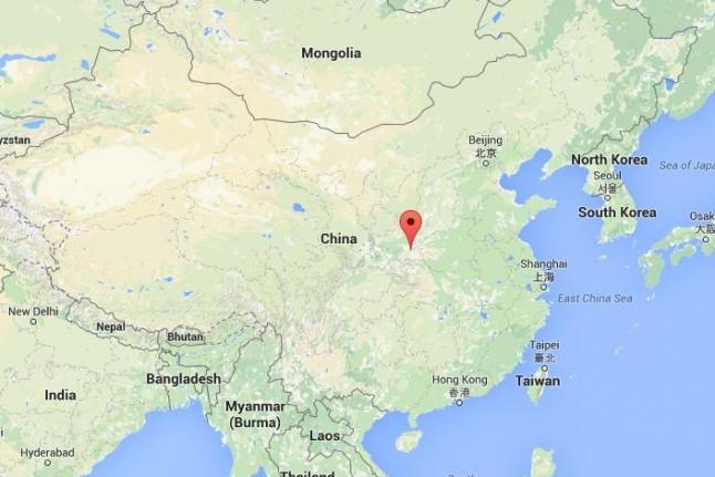 Landslide Hits China