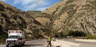 Motorcycle Accident in Weber Canyon