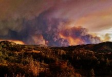The Rocky Fire in Northern California