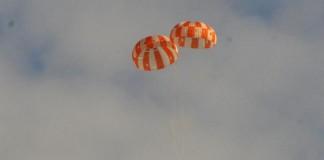 Orion Parachutes Pass Failure Test