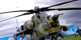 Mi-28 Helicopter Crash in Russia Photo