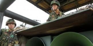 North Korea Preparing To Shoot Down South's Loudspeakers