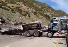 Weber Canyon Tanker Overturn