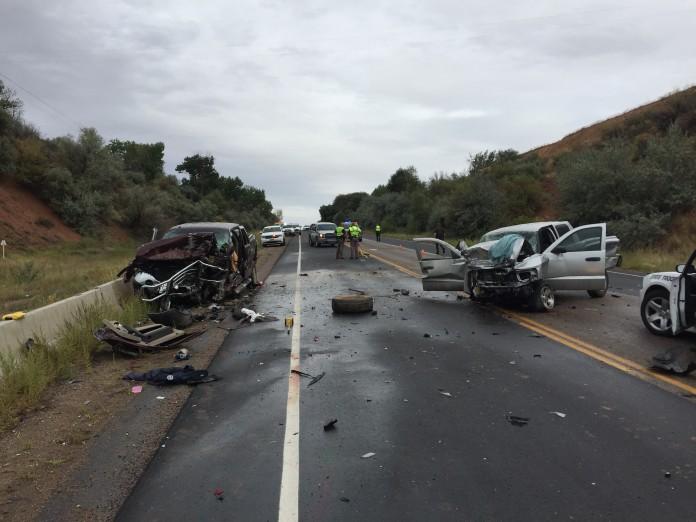 Uintah County Fatal Head on Collision US-40