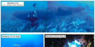 Underwater Monolith Found Off Sicilian Coast