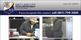 Foothill Drive Zions Bank Robbery