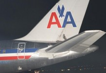 American Airlines Fight Diverted