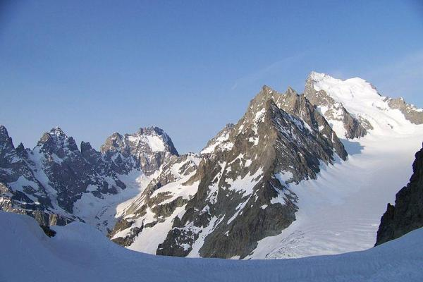 Avalanche In French Alps