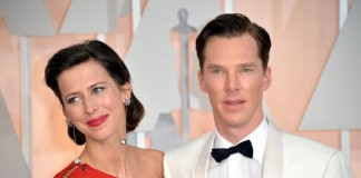 Benedict Cumberbatch and Sophie Hunters