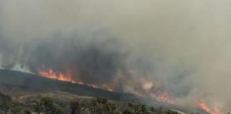 California Wildfire Grows