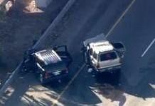 Police Chase in California