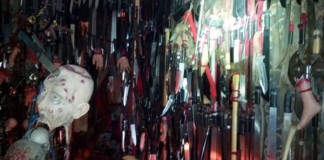 Florida Woman With 3,714 Bladed Weapons
