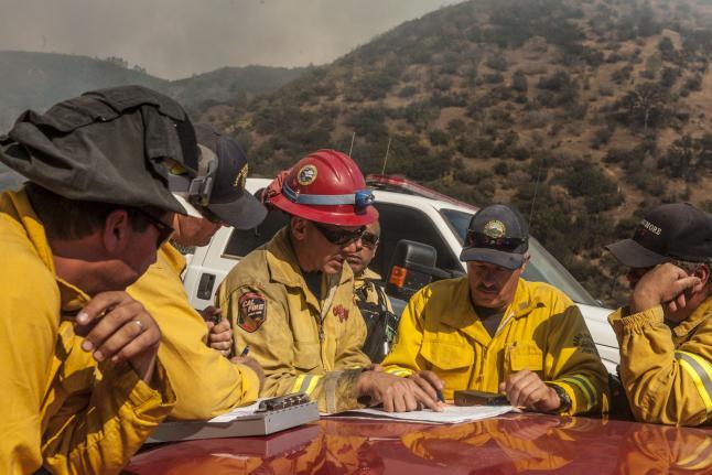 Rocky Fire Fire Fighters