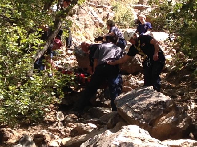 Rocky Mouth Falls Trail Fall