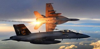 single seat F/A-18E Super Hornets