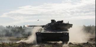 CV90 armored combat tank