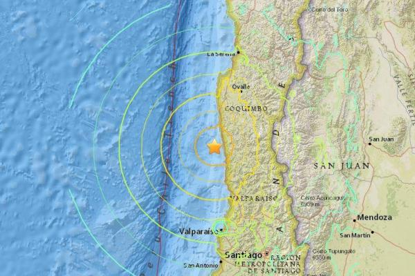 Chile's 8.3-magnitude Earthquake