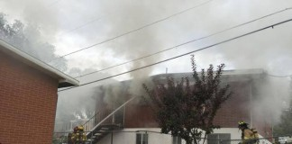 Apartment Fire In North Salt Lake