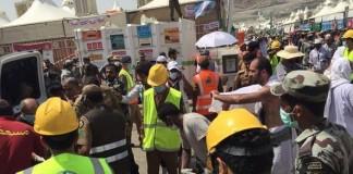 Stampede During the Hajj Pilgrimage Mecca
