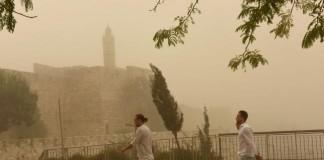 Sandstorm Envelops Middle East