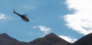 Utah County Search and Rescue Helicopter