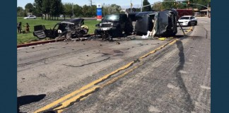13 Yo Truck Thieve Car Accident Ogden