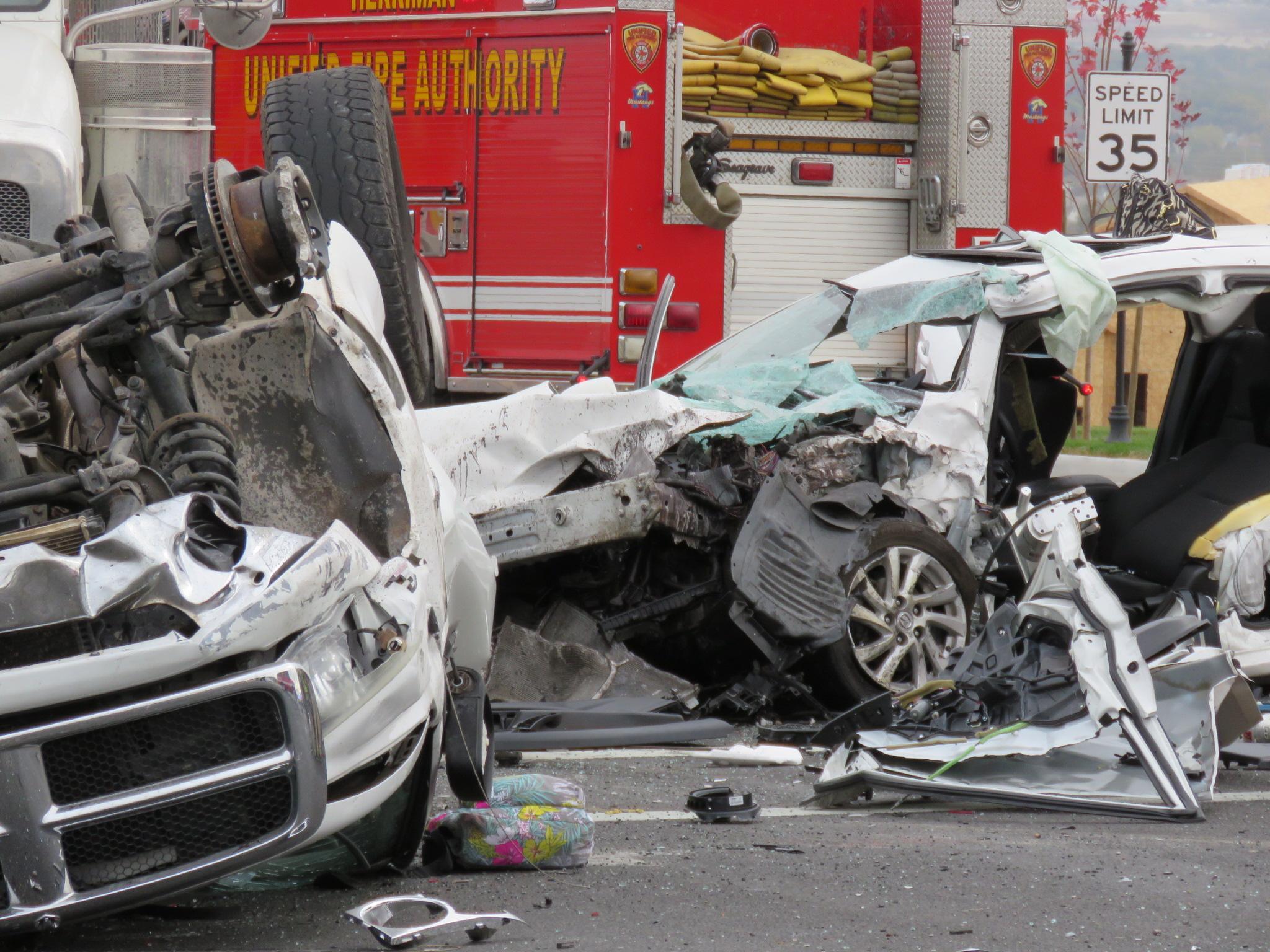 Car Accident In Herriman
