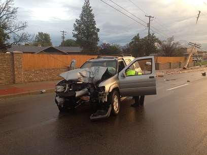 Hit And Run Accident With Utility Pole Leaves Thousands