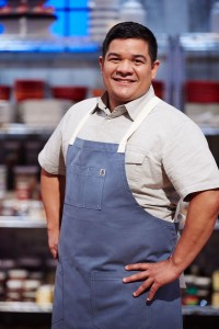 Local Award Winning Pastry Chef Adalberto Diaz competes on this years Food Network's Holiday Baking Championship. Photo Courtesy: Food Network