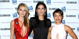 Angie Harmon AnnaLynne McCord and Grace Gealey