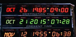 "October 21, 2015 - Happy ""Back to the Future Day"""