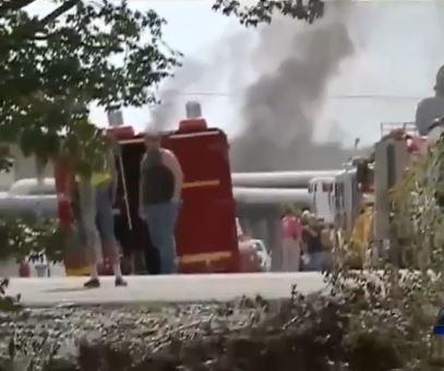 Explosion At Non-Operational Natural Gas Plant