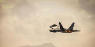 F-22 Raptor Jet Plane