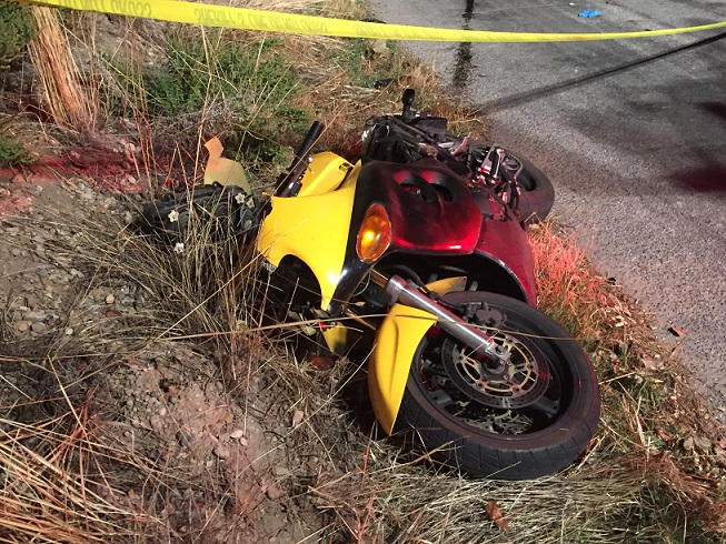 Motorcycle Accident in Spanish Fork