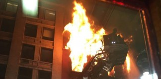 Fire Consumes New York City Apartment Building