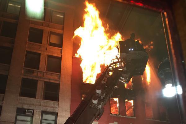 Massive Fire Consumes New York City Apartment Building