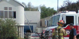Two-Alarm Fire on West Temple