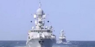 Russian Navy Launches Missiles Against Islamic State