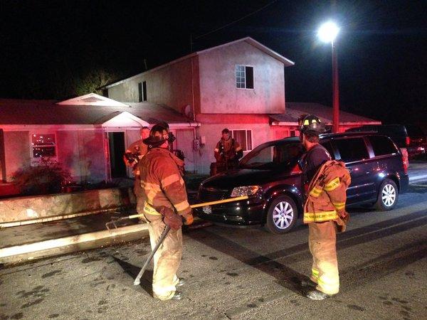 SLC house Fire