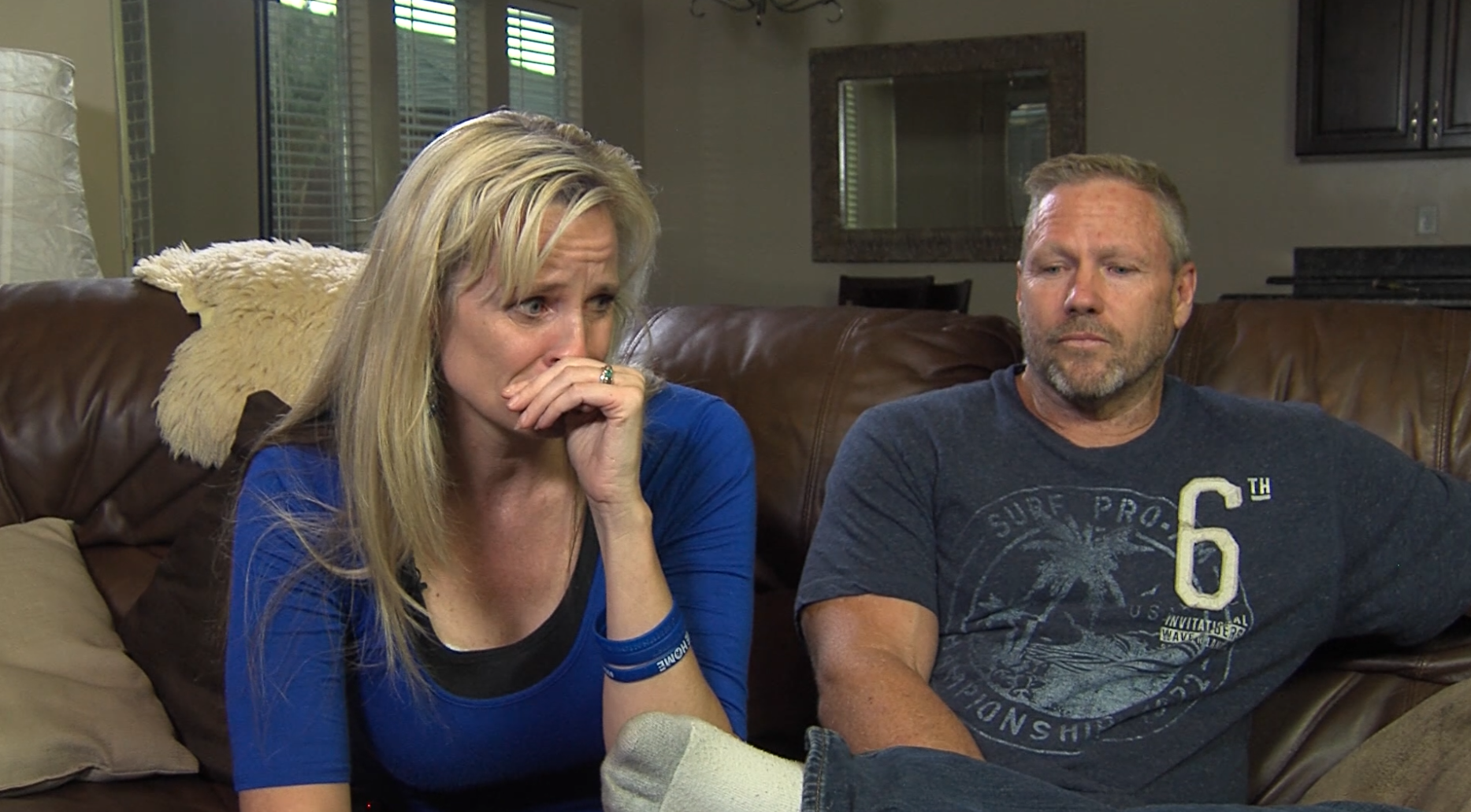 Macin smith s mom and dad tracey and darrin speak to gephardt daily