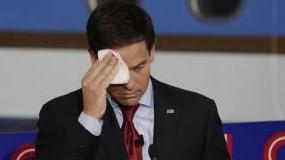 Trump Trolls Rubio With Water