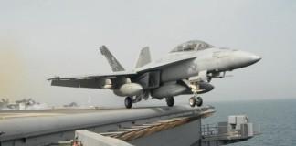 U.S. F-18 Jet Crashes Near Royal Air Force Base
