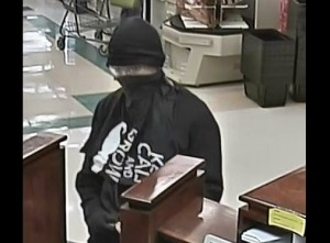 Police in West Valley are hoping to identify a suspect who robbed a US Bank Friday night. Photo Courtesy: West Valley City Police