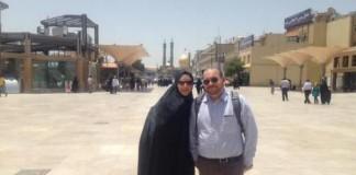 Jason Rezaian and Wife Yaganeh Salehi