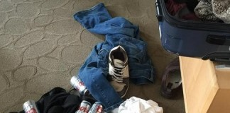 WestJet Passanger Finds Mystery Clothing in Luggage