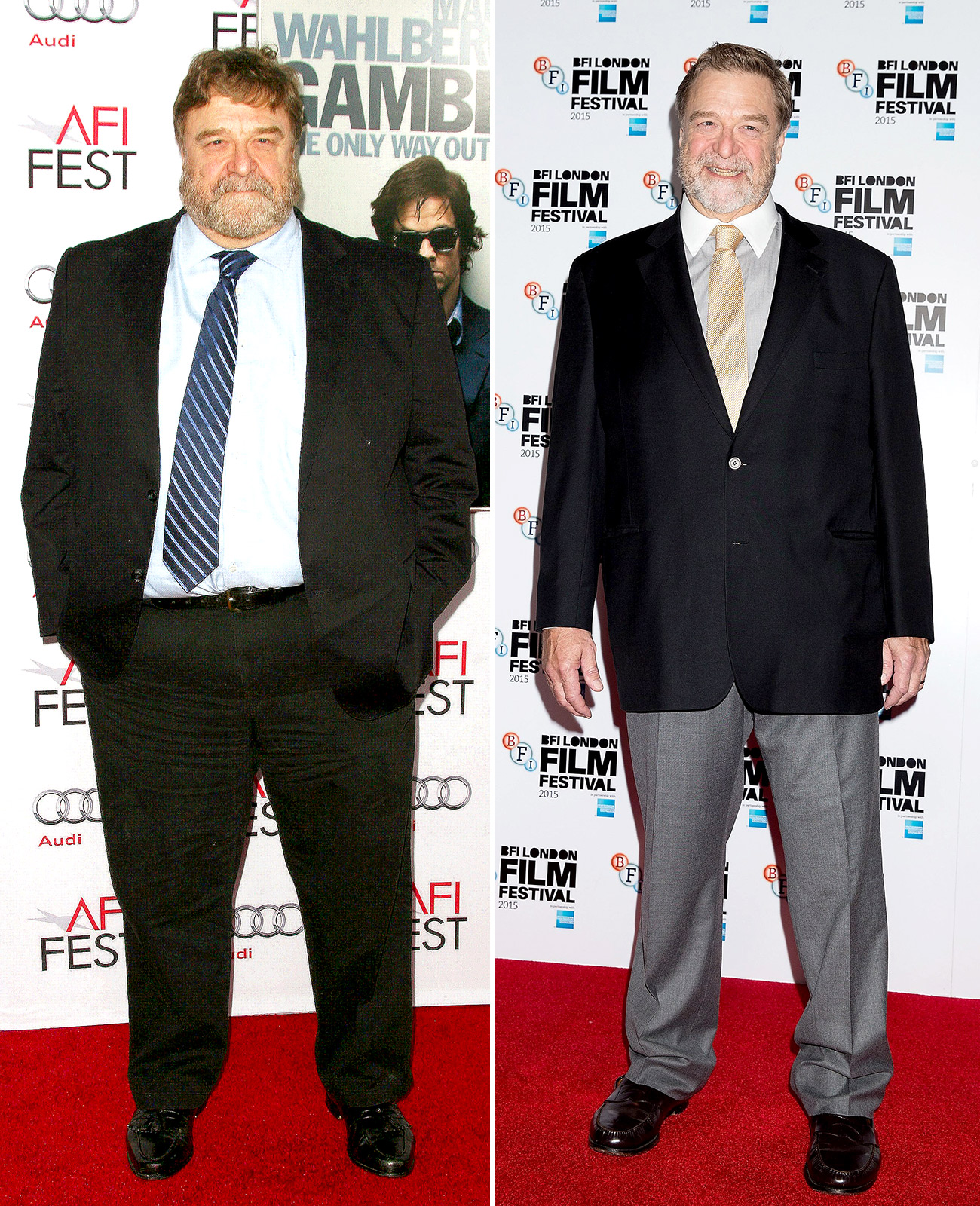 john goodman weight loss pictures