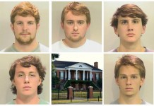 5 University Of Alabama Fraternity Members Arrested
