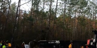 FedEx Truck Accident In Mississippi
